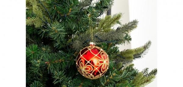 Weihnachtskugel Kyona