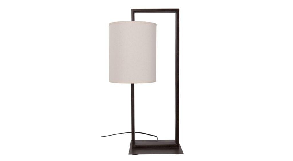 LAMPE FAUSTO MIT SCHIRM H63,5
