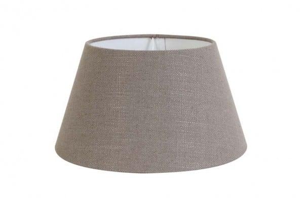 Lampenschirm rund 40-30-22 cm LIVIGNO leber