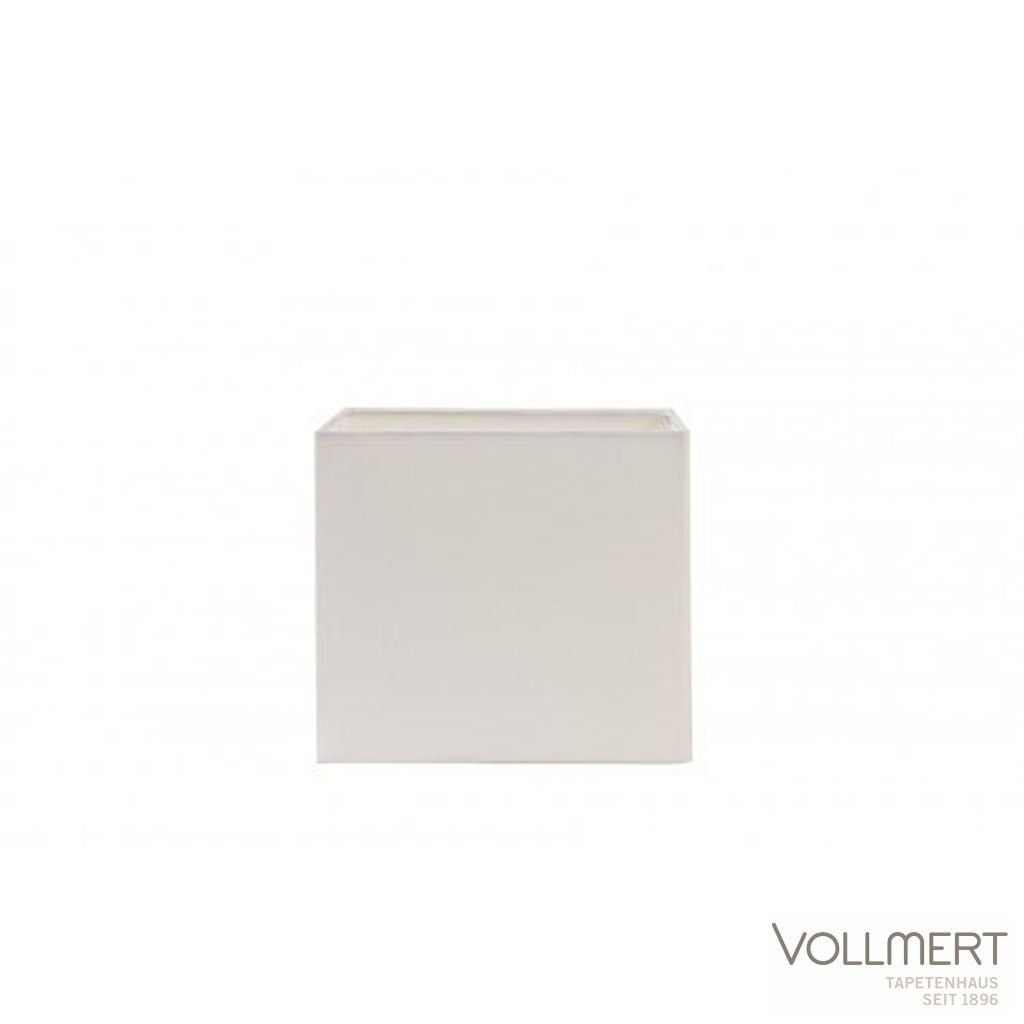 Lampenschirm viereckig niedrig 20-20-18 cm POLYCOT