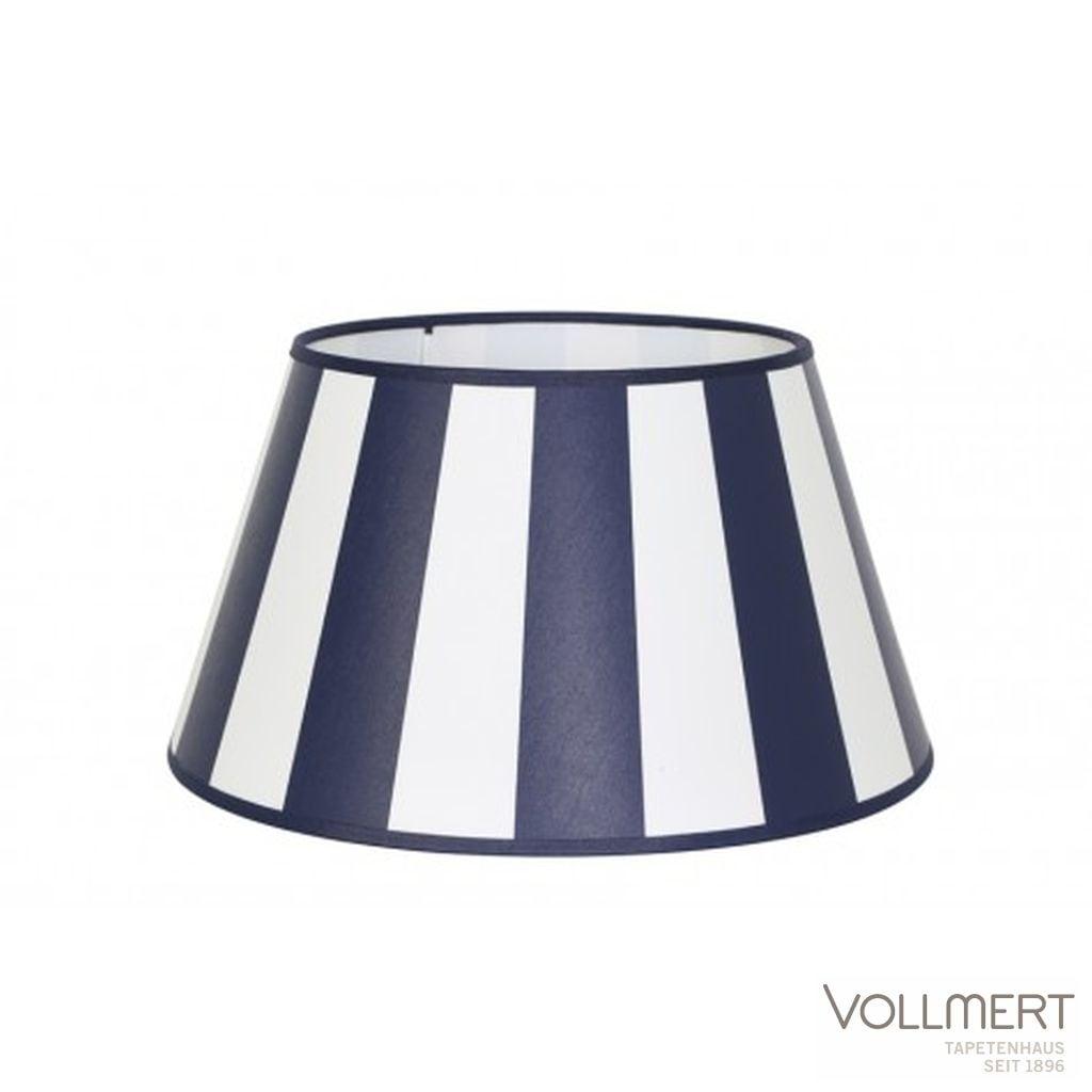 Lampenschirm drum 20-15-13 cm KING Marineblau