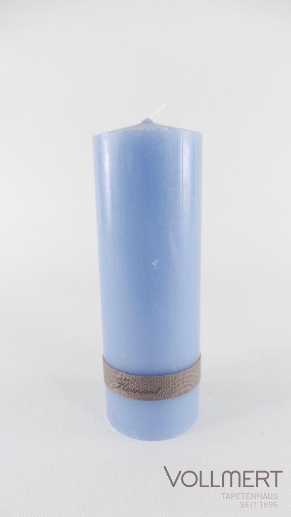 KERZE ELISE COPENHAGEN BLUE 5X15