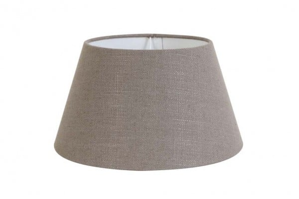 Lampenschirm rund 25-18-14 cm LIVIGNO leber