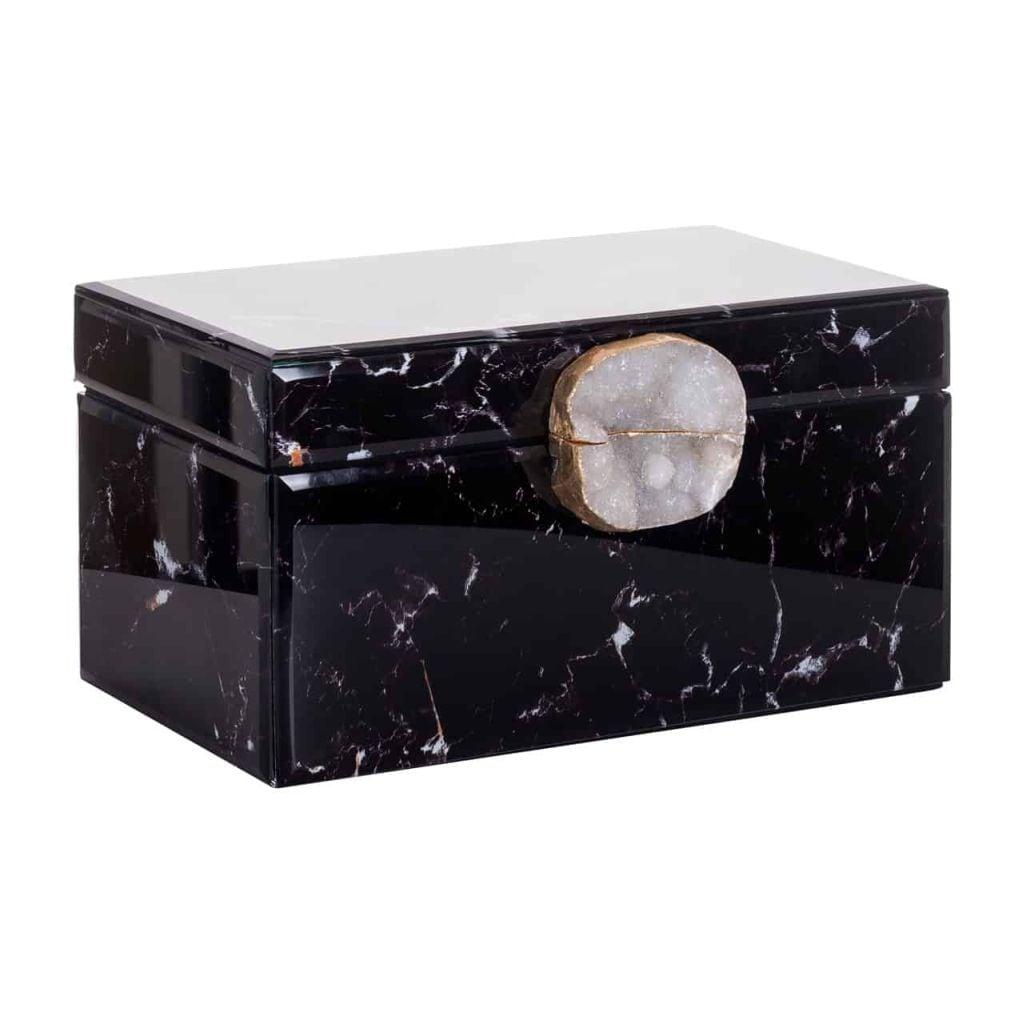 SCHMUCKBOX MAEVE BLACK MARBLE