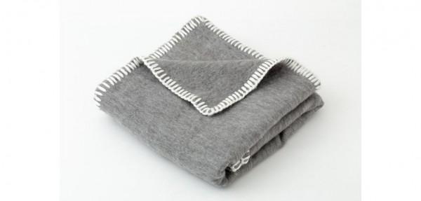Plaid Decke Fabrio Grey