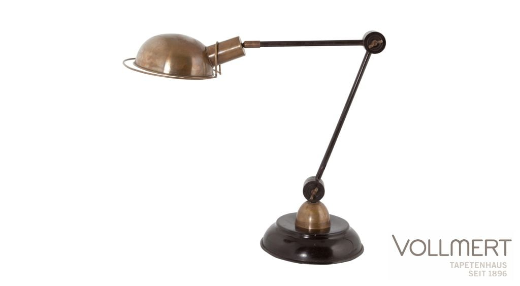 LAMPE BRINN KUPFER