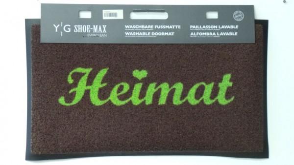 Shoe Max Fußmatte Everclean Heimat grün/braun