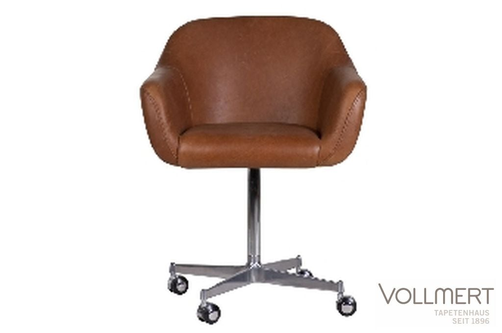 DESKCHAIR MIGUEL LEATHER