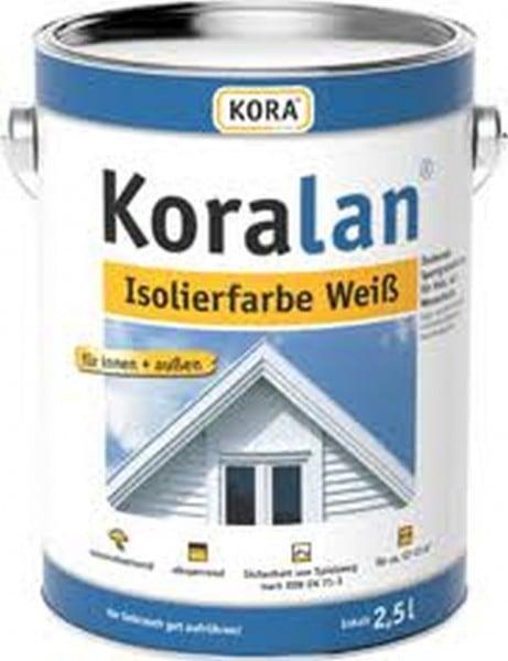 Koralan Isolierfarbe weiß