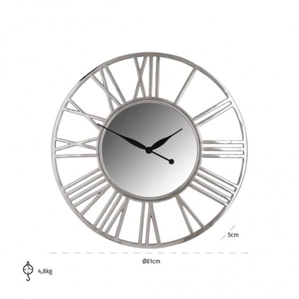 Uhr Danell rund Silber