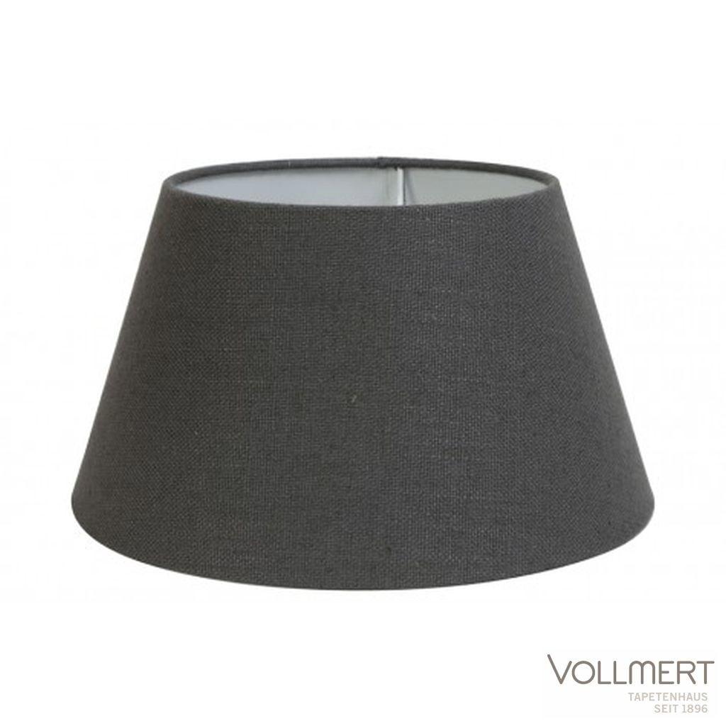 Lampenschirm drum 25-18-14 cm LIVIGNO dunkel grau